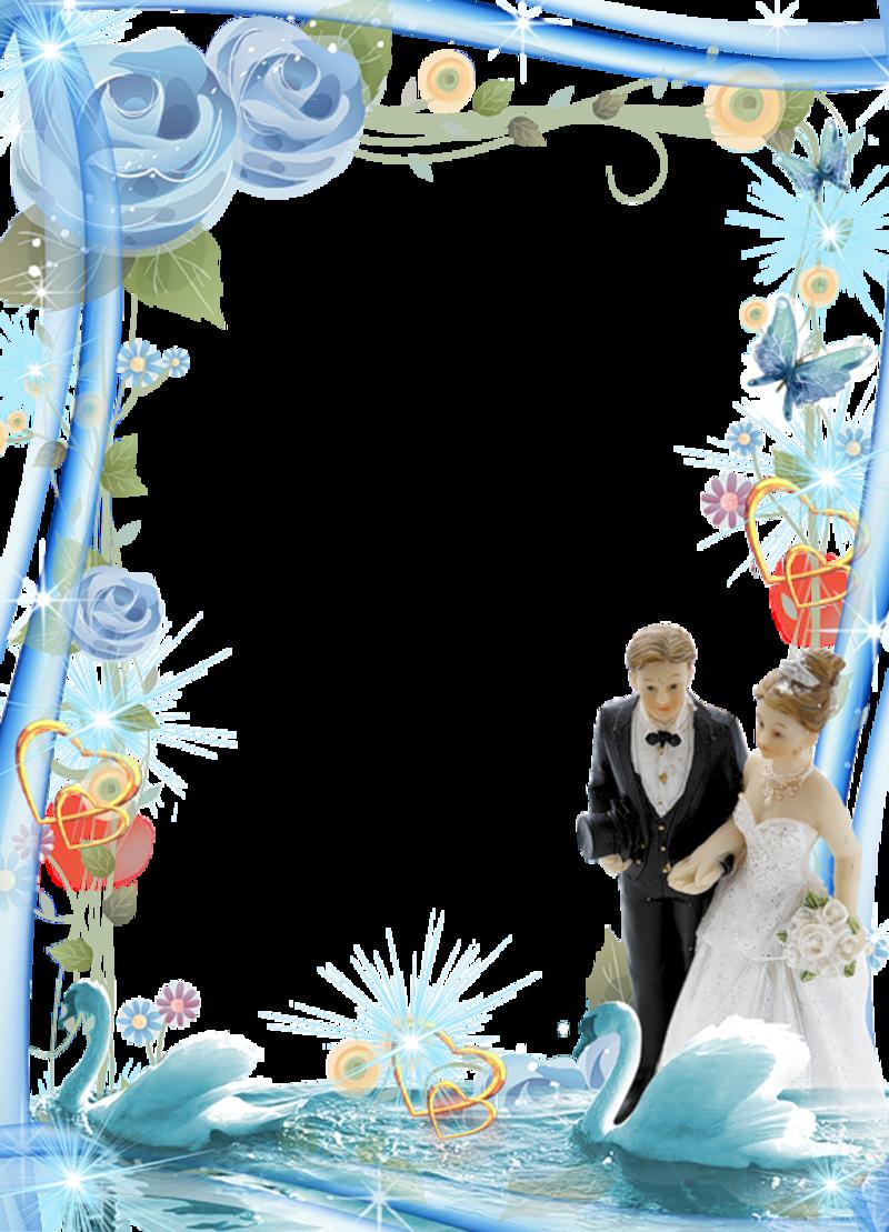 Рамки на свадебное поздравление с